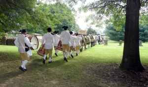 Watauga Valley Fife and Drum Paying Tribute to the family of John Carter