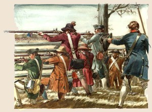 Battling it out at Guilford COurthouse