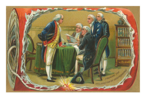 Framing the Declaration of Independence