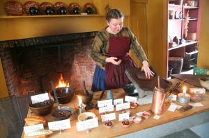 Chocolate Making at the Genessee County Village and Museum, upstate NY