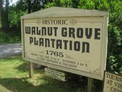 Beautiful Walnut Grove; good to see the sign!
