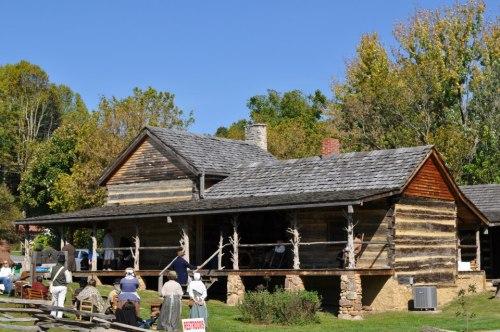 Bowman- Bogart cabin, Unicoi, TN