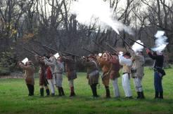 1812 First Regiment; straight line!