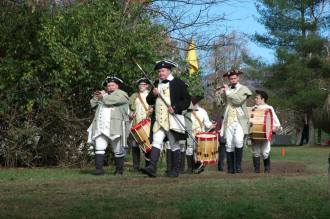 Fife and Drum led by John Large
