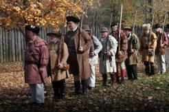 No. Carolina Regiment; straight line!