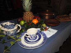 English tablescape